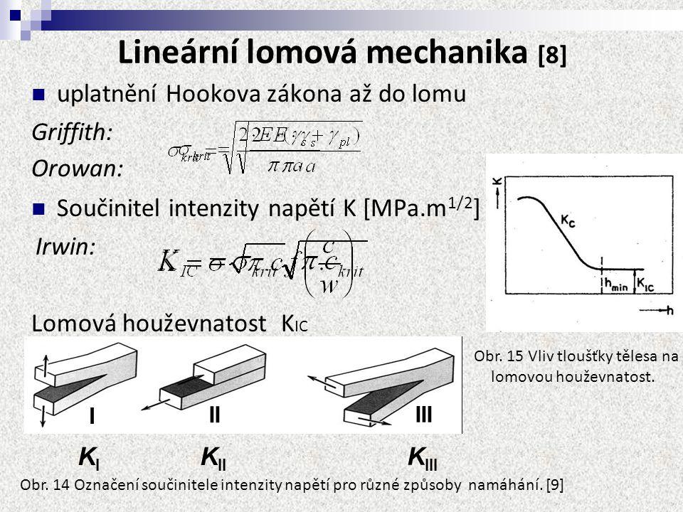 Lineární lomová mechanika [8]